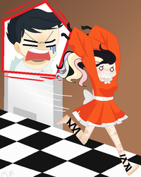 AYAKA! GET BACK HERE! by Melon0Monster
