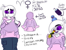 Violet ref sheet 2018 by MachinistMusic
