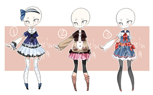 [CLOSED] Outfit adopts [Set price] by aririzia
