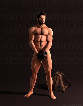 Daemon Collection Tumblr - Naked Joel! by DaemonCollection