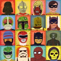Heroes and Villains by Teagle