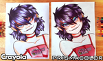 $5 Pencils Vs. $50 Pencils (Gorillaz Noodle) by FlyingPings