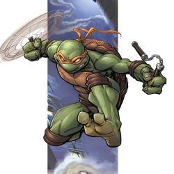 TMNT Mikey by PatrickBrown