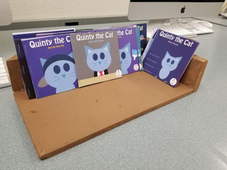 Quinty the Cat books by RyanSilberman