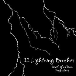 Lightning Brushes by DoaC-Res