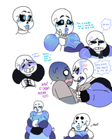 SKELE MAMA X SANSY DOODLES by Star-Babu
