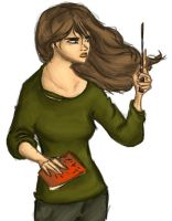 DH Hermione by MioneBookworm