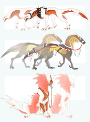 Fancy Gillbeast Adopts [Sold!] by Nhyra