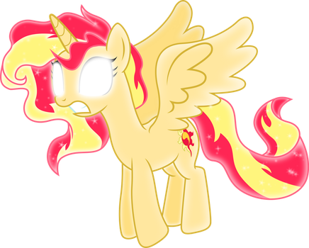 God Mode Princess Sunset Shimmer by TheShadowStone