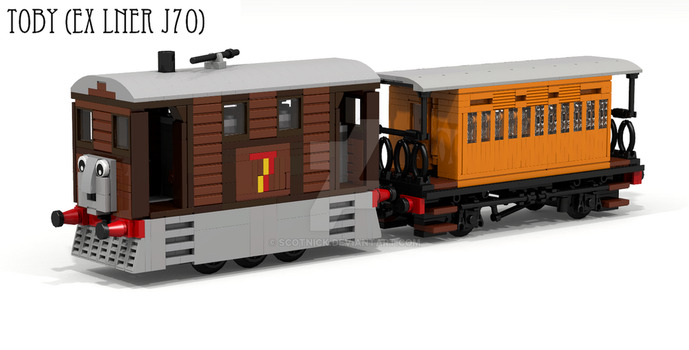Toby the steam tram - origninally LNER J70 by ScotNick