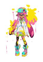 Day 24 | Inkling by moxie2D