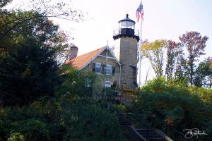 Whiteriver Light Station Whitehall, MI by B-Richards