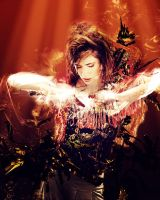 Imogen Heap Photomanip by LaZerWuf