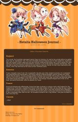 Hetalia Halloween Journal Skin by SimplySilent