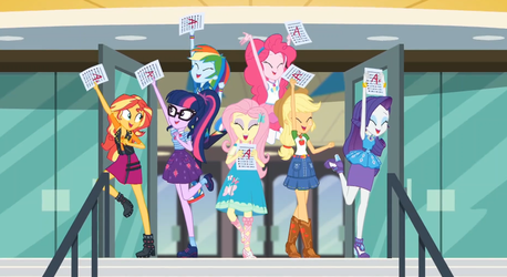 MLP EQG  The Finals Countdown Moments 9 by Wakko2010