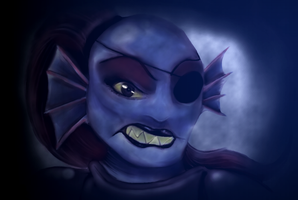 Undyne by WhatTheFlup