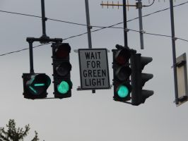 Wait for Green Light by Tracksidegorilla1