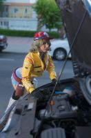 Cindy Aurum PhotoShoot by LuffySwan