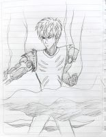 fast sketch for Genos by Jia-Horizon-Artworks