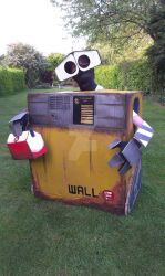 Wall-E Costume by SnowiusOwlus
