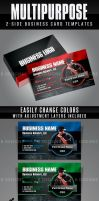 Multipurpose Business Card Templates 1 by AnotherBcreation