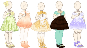 REPRICED! Outfit Adopts [OPEN] by Death2Eden