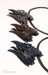 Chtonic birds metallic by metazoe