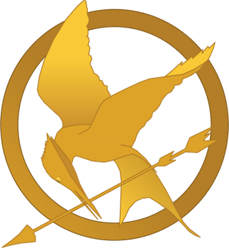 Hunger Games Mockingjay Symbol by randomperson77