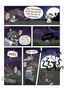 A Grave Fate page 1 by Trevor-Fox