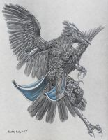 -Commission- Storm Nobleheart Raven by RussellTuller