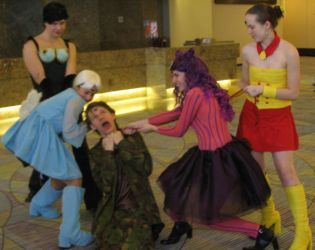 Wicked Sisters and Rubeus by Rubeus-Club