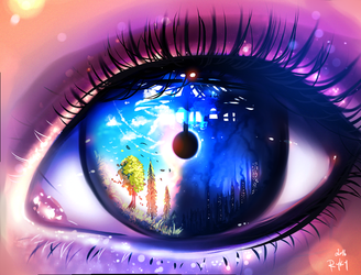 Eye Of The Truth by ryky