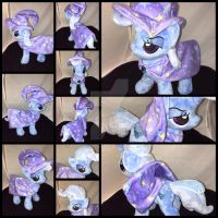 MLP 10in Great n Powerful Trixie plush-BronyCon'16 by RubioWolf
