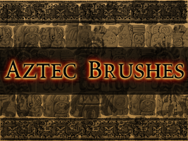 Aztec and Mayan Gimp Brushes by MaxPowersXx
