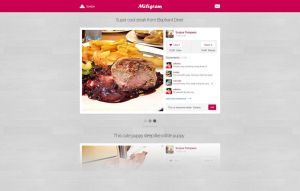 MIligram Photo Web Profile by tempeescom