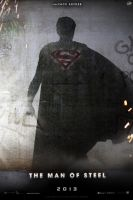 'Man of Steel' teaser poster by AndrewSS7