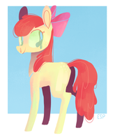 little apple by spacekitsch