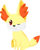 Simply Cute - Fennekin by alicesstudio