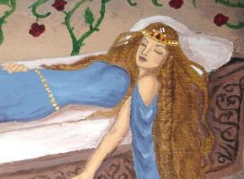 Sleeping Beauty Box, Detail by Sidhe-Etain