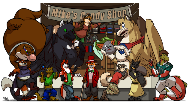 Mike's Candy Shop by Michaelbond007