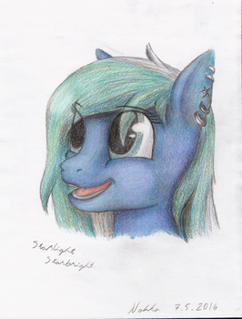 Starlight Starbright Portrait by Poninnahka