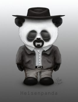Heisenpanda by JenTheThirdGal