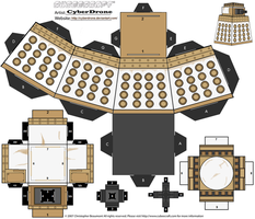 Cubee - Special Weapons Dalek by CyberDrone