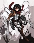 Mikasa by TheLivingShadow