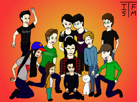 Thank you to Youtubers by RoseandherThorns