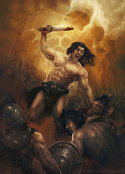 Barbarian Rage by Nemca