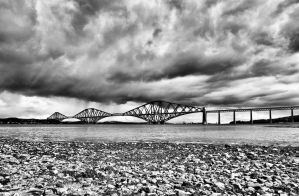 Forth Rail Bridge by BusterBrownBB