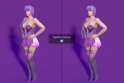 DOAXVV Ayane - Papillon Dance [DL] by Shuubaru