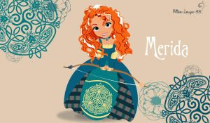 Disney Young Princess ~ Merida by miss-lollyx-33