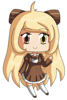 [K] Mini Chibi Mireio by izka197